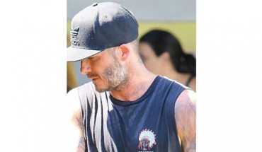 David Beckham: Αυτό είναι το νέο του τατουάζ