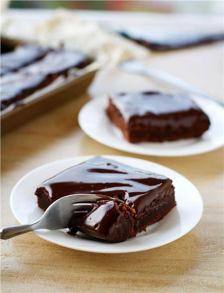 εύκολη και λαχταριστή σοκολατόπιτα