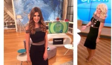 Τσιμτσιλή - Μενεγάκη: Η εμφάνισή τους on air με το ίδιο φόρεμα!