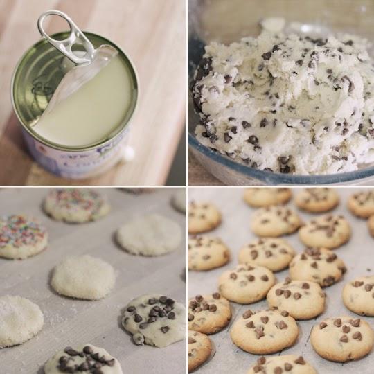 Καταπληκτικά μπισκότα με 3 υλικά