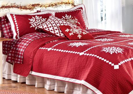 Βάλτε τα χριστούγεννα στο υπνοδωμάτιο σας