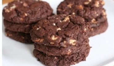 Cookies με σοκολάτα και κακάο