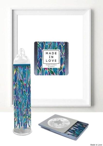 Χάρη σε αυτά τα προφυλακτικά μπορείτε να έχετε ένα έργο τέχνης μέσα σας - κυριολεκτικά