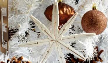 Φτιάξτε υπέροχα χριστουγεννιάτικα στολίδια με μανταλάκια