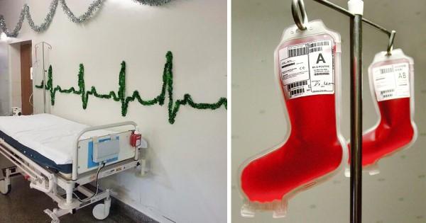 Το προσωπικό αυτών των νοσοκομείων ξέρουν τι θα πει Χριστουγεννιάτικος στολισμός