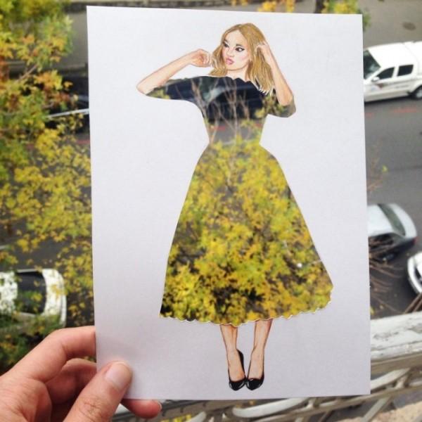 Καλλιτέχνης από την Αρμενία σχεδιάζει φορέματα χρησιμοποιώντας καθημερινά αντικείμενα