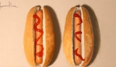 Βάζουμε στοίχημα πως δεν μπορείτε να ξεχωρίσετε ποιο από τα δύο χοτ ντογκ είναι αληθινό