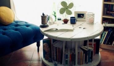 Φτιάξτε μόνοι σας την πιο στιλάτη βιβλιοθήκη - τραπεζάκι