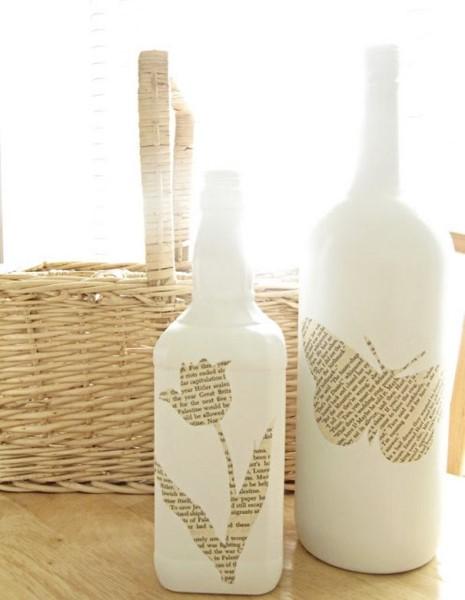 Πετάτε κι εσείς τα άδεια γυάλινα μπουκάλια; Τώρα μπορείτε να έφτιαξε κάτι που όλοι θα ήθελαν να έχουν