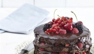 chocolate fudge cake_ (5
