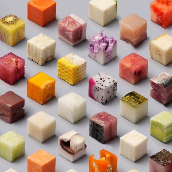Μπορείτε να αναγνωρίσετε ποιο είναι το φαγητό που «κρύβεται» σε κάθε ένα από τα 98 κυβάκια;