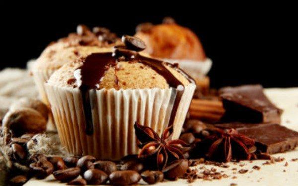 Νηστίσιμα μάφινς βανίλιας με σταγόνες σοκολάτας