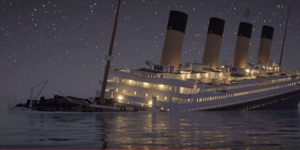 Το ναυάγιο του Τιτανικού όπως δεν το έχετε ξαναδεί: H τραγωδία σε πραγματικό χρόνο, σε animation για παιχνίδι