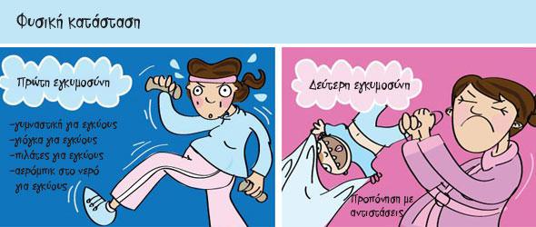 Πρώτη και δεύτερη εγκυμοσύνη