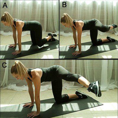 εύκολες ασκήσεις για στρογγυλούς γλουτούς 3