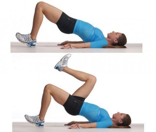 εύκολες ασκήσεις για στρογγυλούς γλουτούς 7