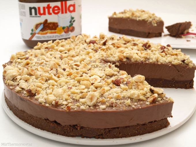 Cheesecake Νutella χωρίς ψήσιμο