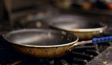 καμένο σας τηγάνι