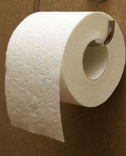 χαρτί υγείας στο κάθισμα μια δημόσιας τουαλέτας 1