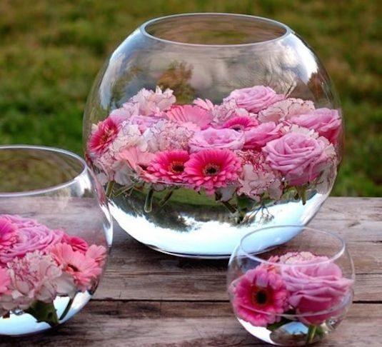 φτιάξετε επιπλέουσες θήκες για λουλούδια  1