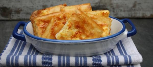 Αλευρόπιτα με τυρί