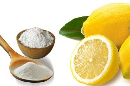 μαγειρική σόδα και λεμόνι 2