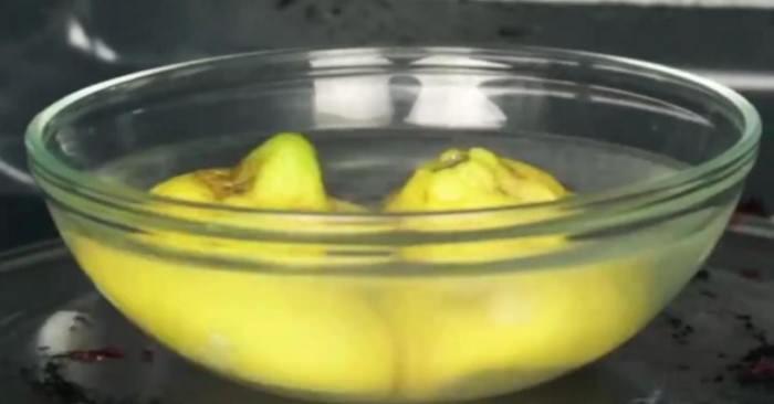 μπολ νερό και λεμόνι