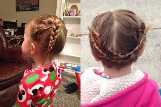 Πατέρας μαθαίνει πως να φτιάχνει τα Μαλλιά της Κόρης του 7