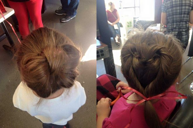 Πατέρας μαθαίνει πως να φτιάχνει τα Μαλλιά της Κόρης του 8