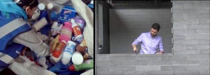 άντρας που φτιάχνει σπίτια για τους άστεγους 2