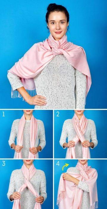 8 Κομψοί Τρόποι για να Πετύχετε την Τέλεια Φθινοπωρινή Εμφάνιση φορώντας το Αγαπημένο σας Φουλάρι! 2