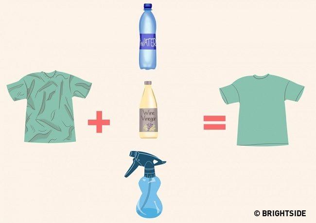 9 Απίθανα Κόλπα για να έχετε τα Ρούχα σας πάντα σε Άψογη Κατάσταση, ΧΩΡΙΣ σιδέρωμα! 3