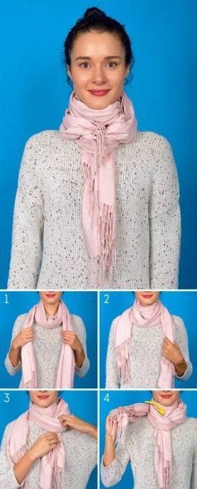 8 Κομψοί Τρόποι για να Πετύχετε την Τέλεια Φθινοπωρινή Εμφάνιση φορώντας το Αγαπημένο σας Φουλάρι! 4