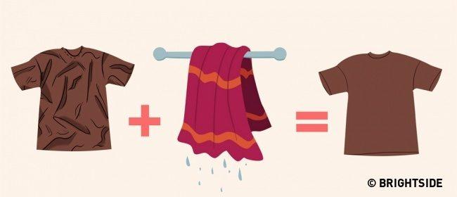 9 Απίθανα Κόλπα για να έχετε τα Ρούχα σας πάντα σε Άψογη Κατάσταση, ΧΩΡΙΣ σιδέρωμα! 7