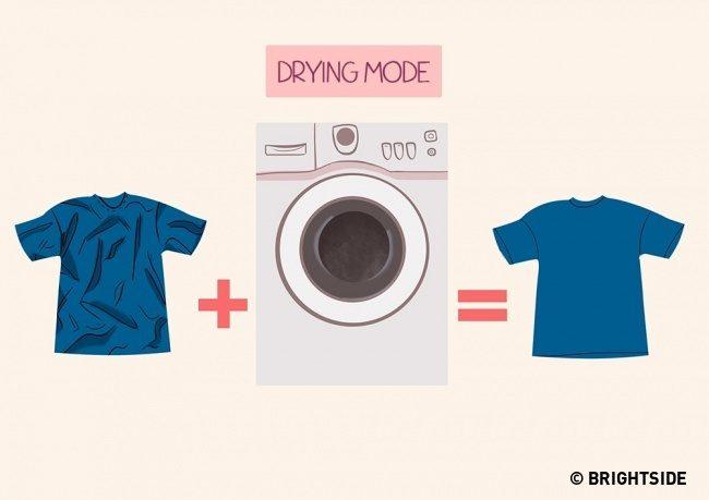 9 Απίθανα Κόλπα για να έχετε τα Ρούχα σας πάντα σε Άψογη Κατάσταση, ΧΩΡΙΣ σιδέρωμα! 8
