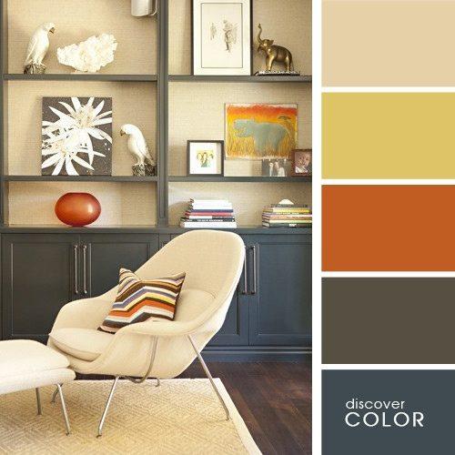 20 Καταπληκτικοί και Ζεστοί Χρωματικοί Συνδυασμοί για την Φθινοπωρινή Διακόσμηση του Σπιτιού σας 9