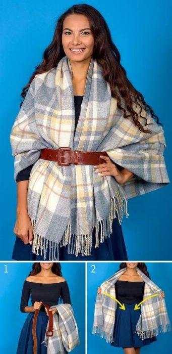 8 Κομψοί Τρόποι για να Πετύχετε την Τέλεια Φθινοπωρινή Εμφάνιση φορώντας το Αγαπημένο σας Φουλάρι! 9