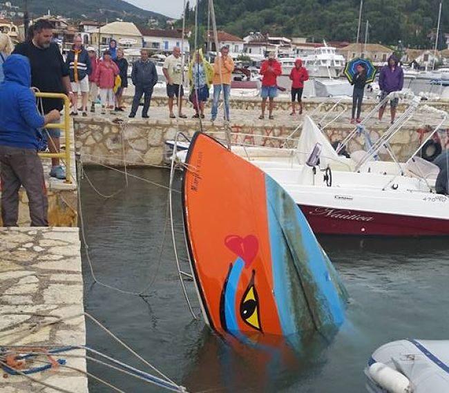 Σύβοτα, σαν να πέρασε τυφώνας -Ασύλληπτες εικόνες με βάρκες να έχουν βουλιάξει 4