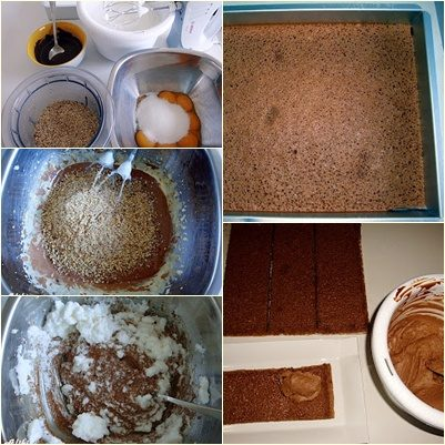 """Shirley Temple"" τούρτα - τούρτα σοκολάτας με φουντούκια 1"