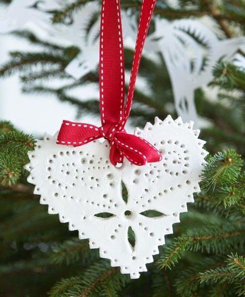 Ζύμη με κορν φλαουρ για τα ποιο όμορφα Χριστουγεννιάτικα στολίδια που φτιαξάτε ποτέ! 5