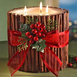 Πώς να φτιάξετε μόνοι σας Χριστουγεννιάτικα κεριά και γούρια 1
