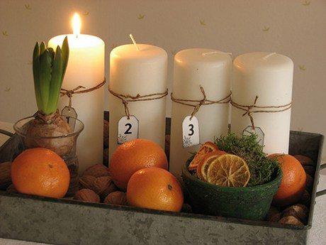 Πώς να φτιάξετε μόνοι σας Χριστουγεννιάτικα κεριά και γούρια 2