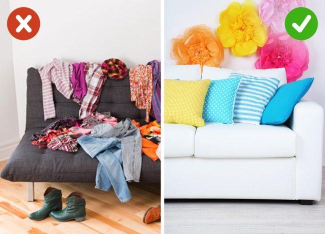 10 Κλασικά Λάθη που ΟΛΟΙ κάνουμε στο Σπίτι μας και προκαλούν Ακαταστασία. Δείτε ΠΩΣ είναι το Σωστό! 9