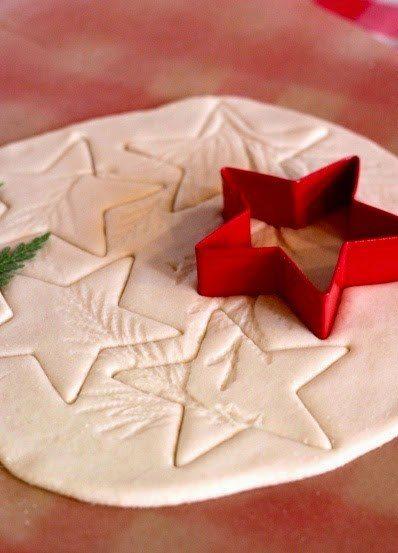 Ζύμη με κορν φλαουρ για τα ποιο όμορφα Χριστουγεννιάτικα στολίδια που φτιαξάτε ποτέ! 2