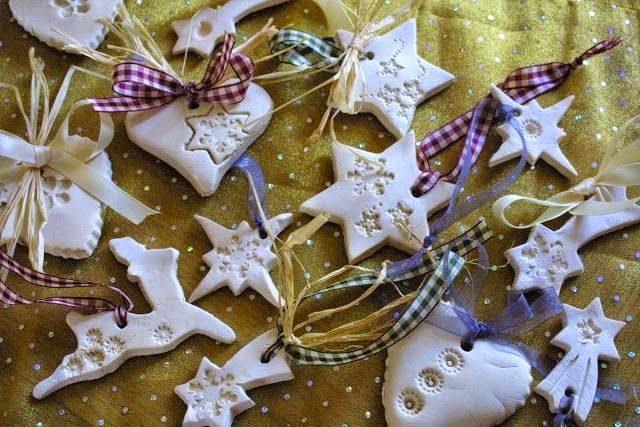 Ζύμη με κορν φλαουρ για τα ποιο όμορφα Χριστουγεννιάτικα στολίδια που φτιαξάτε ποτέ! 4