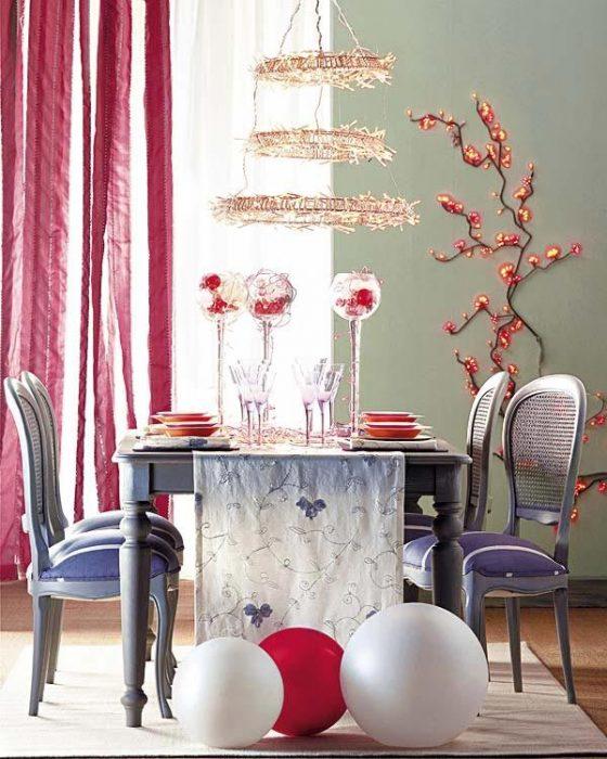 Πώς να στολίσετε το Χριστουγεννιάτικο τραπέζι σας  14