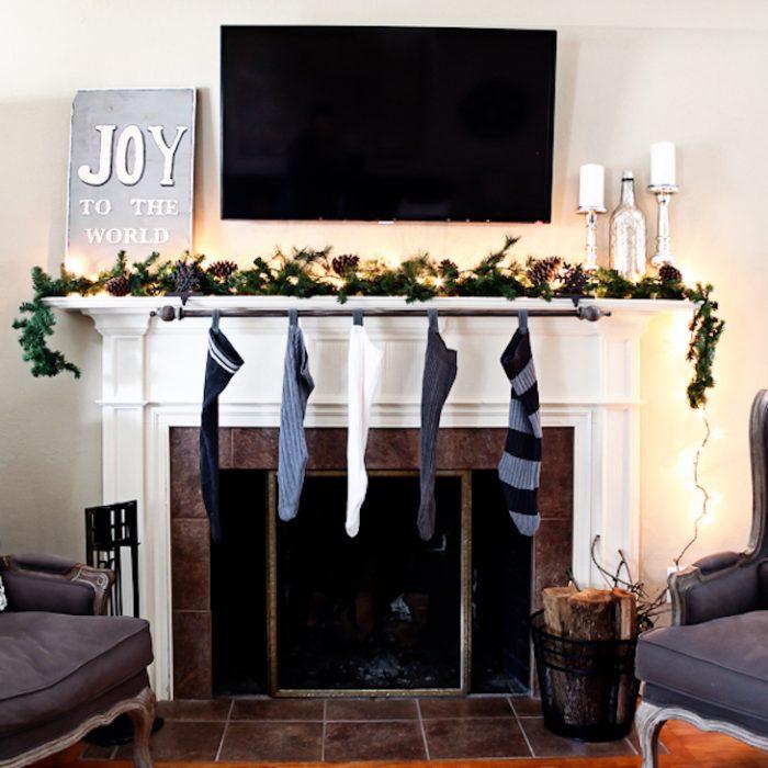 9 Καταπληκτικές Κατασκευές με Κουρτινόξυλα που θα σας Ξετρελάνουν. Η Χριστουγεννιάτικη είναι η Καλύτερη! 3