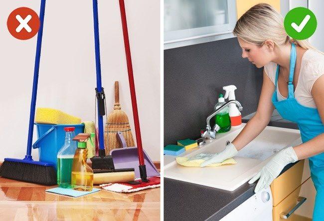 10 Κλασικά Λάθη που ΟΛΟΙ κάνουμε στο Σπίτι μας και προκαλούν Ακαταστασία. Δείτε ΠΩΣ είναι το Σωστό! 3