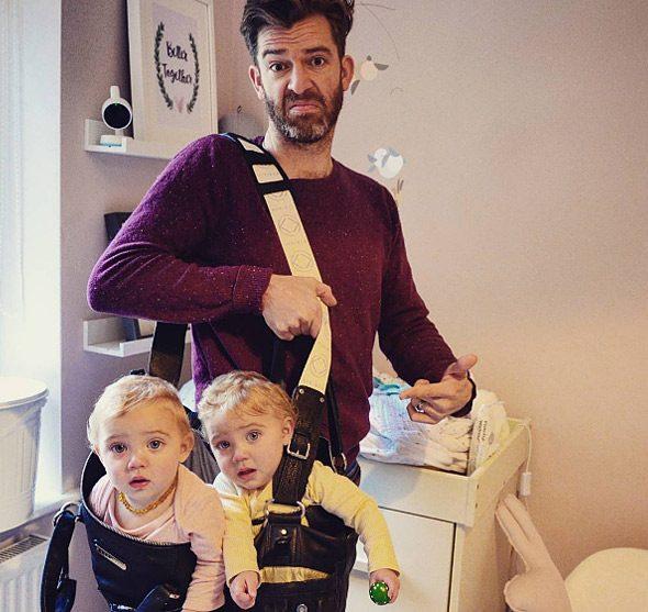 Μπαμπάς δείχνει πώς είναι η καθημερινότητα του με 4 κόρες 4