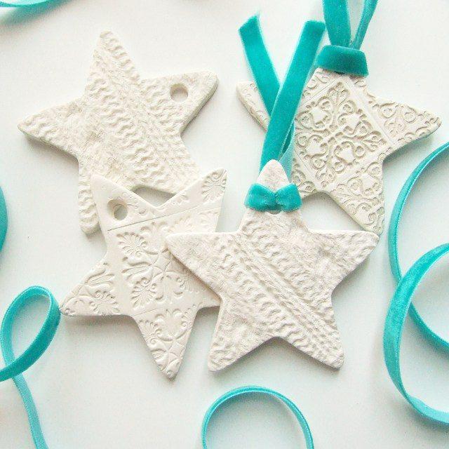 Ζύμη με κορν φλαουρ για τα ποιο όμορφα Χριστουγεννιάτικα στολίδια που φτιαξάτε ποτέ! 13
